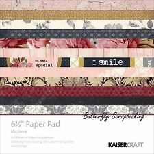 Ma Cherie Collection 6.5 inch Paper Pad Scrapbooking Kit Kaisercraft New
