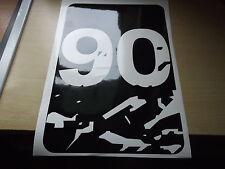 LAND ROVER DEFENDER 90 WING PANNELLO COFANO Adesivo Set
