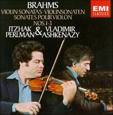 Brahms: Violin Sonatas Nos. 1-3 (CD, Oct-1990, EMI Music Distribution)