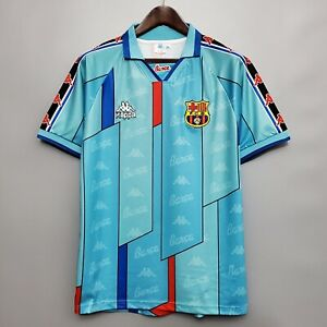 Retro Football Shirt Barcelona Away Soccer Jersey 1995-1997 RONALDO #9