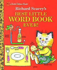Richard Scarry Fiction Hardcover Children & Young Adults Books