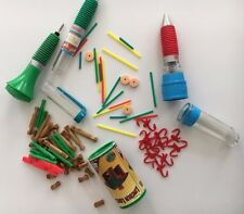 Classic Game Pens Miniatures Barrel of Monkeys, Lincoln Logs and Tinker Toys