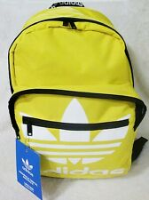 Adidas Originals Trefoil Backpack Yellow with Laptop Space