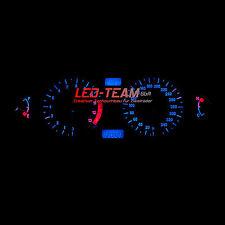 Suzuki GSX 1300R HAYABUSA BJ 99-07 Tacho Umbau SMD LED Set BLAU LED-Team
