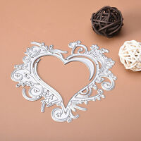 Lace Heart DIY Stencil Scrapbooking Album Paper Card Embossing Metal Cutting Die