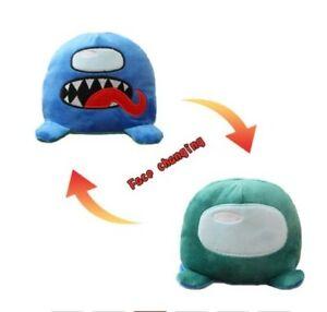 Octopus Reversible Double Side flip Among us plush stuffed toy Kids