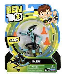 Ben 10 XLR8 Action Figure Toy, 76108 (12.5 cm) 5 In. Original, New & Sealed