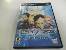 PS2 Game-Code Lyoko-Quest for INFINITY-NTSC Version-USA