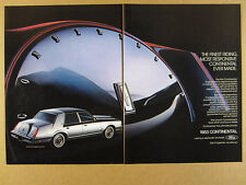 1983 Lincoln Continental Givenchy Designer Edition photo vintage print Ad