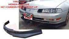 1992 93 94 95 1996 Honda Prelude Carbon Print HC1 Style Front Lip Polyproplyene