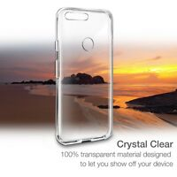 Orzly TPU Gel Case Cover Protection Shell for Google Pixel - Clear