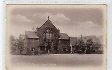 BATTLEFIELD U.F. CHURCH, MOUNT FLORIDA: Glasgow postcard (C27896)