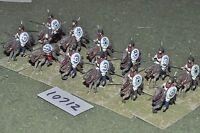 25mm roman era / roman - cavalry 12 cavalry - cav (10712)