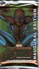 MARVEL RECHARGE COLLECTIBLE CARD INAUGURAL EDITION GAME BOOSTER PACK *TCG*