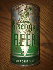 Rare Antique Pilsengold Beer flat top beer can