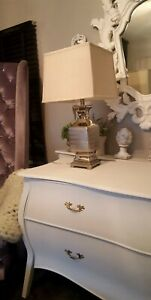 Coach House Silver Table Lamp  Still  With Tag