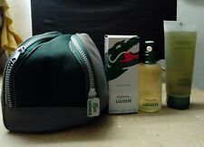 LACOSTE BOOSTER POUR HOMME 125 ML + SHOWER GEL 150 ML + CASE DISCONTINUED!!!