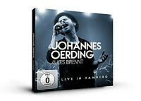 JOHANNES OERDING - ALLES BRENNT-LIVE IN HAMBURG CD + BLU-RAY NEU