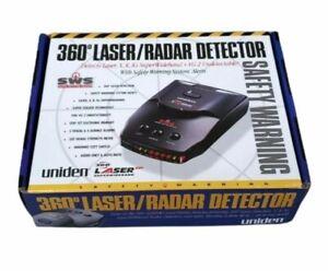 Uniden LRD6299SWS 360 Laser Radar Detector Safety Warning System NEW