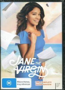 Jane The Virgin The Complete Fifth Season 5 DVD NEW Region 4