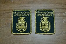 New listing 2 Us Army Corps Of Engineers Patch
