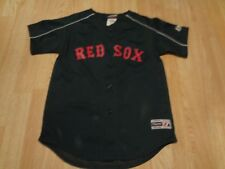 Youth Boston Red Sox M Majestic (Green) Jersey