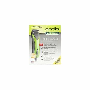 USE Andis Endurance Pro Grade Professional Grooming Clipper in Green