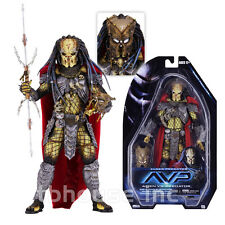 "8"" ELDER PREDATOR action figure RED CAPE yautja AVP VS ALIEN neca SERIES 17 2017"