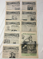 Boy Scouts Of America Jamboree Journal 1964 Nov. 1st -8th With Picture Edition
