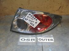 MAZDA 6 2007 HATCH OFFSIDE DRIVER SIDE REAR OUTER WING LAMP / LIGHT