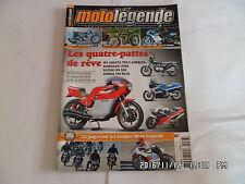 MOTO LEGENDE N°236 07/2012 TRIUMPH THUNDERBIRD 6T ARMAC 1908 MOTOBECANE 125  E76
