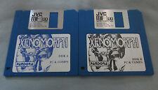 "XENOMORPH - IBM PC Computer Alien Video Game 3.5"" Diskette by Pandora VERY RARE!"