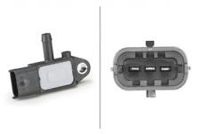 Sensor, Abgasdruck für Gemischaufbereitung HELLA 6PP 009 409-181