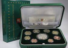 Vatikan 2018 KMS mit 20 Euro Silber Gedenkmünze  Spiegelhintergrund (PP)