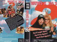 WAYNE'S WORLD 2 - VHS - PAL - NEW & SEALED - Never played! - Original Oz release