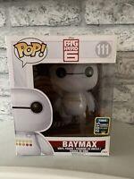 Baymax Emoticon (Glitter) SDCC 2015 Exc Funko Pop Vinyl Disney Big Hero 6 RARE