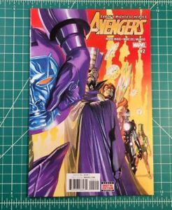 Avengers #2 (2017) NM Kang War Alex Ross Cover Waid Mundo Council of Kangs!