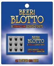 Beer Blotto Scratch Tickets Drinking Game