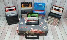 Kassetten Konvolut - BASF / C-60 / agfa / Teleropa c60 / Super C60 + Koffer