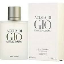 Aqua Acqua Di Gio Eau de Toilette 3.4 oz Cologne for Men New *AUTHENTIC*