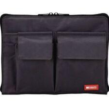 Lihit Lab Bag in bag Black A5 size A7553-24 1.7cm×25cm×1.8cm Japan