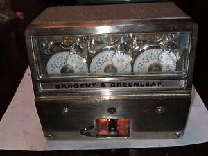 Brand New Sargent & Greenleaf 6370-004 3 Movement Timelock Vault and Safe ready