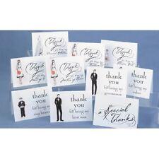 Bridal Party Mixed Lot Wedding Thank You Notes 30/pk