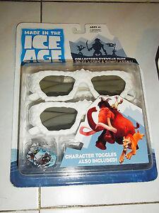 Toys Disney Ice Age 4  Movie REALD 3D Glasses Kid's 3D Glasses Sunglasses Serice