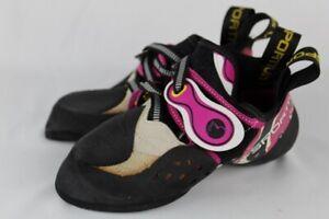La Sportiva Solution Unisex 33 Climbing shoes US Women's 2 Men's 3 NEW