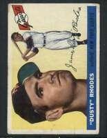 1955 Topps #1 Dusty Rhodes VGEX NY Giants 77652