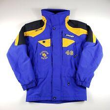 Spyder XTL Ski Jacket Competition Ski Team Blue Black Men's Small Embroidered