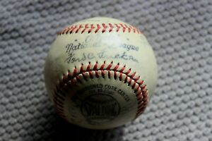 1940s Spalding Ford Frick Off'l National League unused baseball (See description