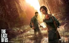 POSTER THE LAST OF US ZOMBIE HORROR VIDEOGAME JOEL ELLIE PS3 PS4 XBOX 360 FOTO 3