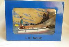 Figurine Tintin BD - Scene L'île Noire / 2007 / HERGE / MOULINSART